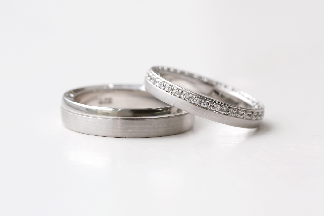 Sequoia eternity Wedding Ring - 공방301